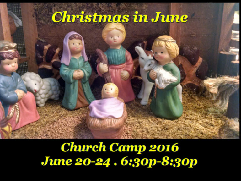 Church Camp 2016