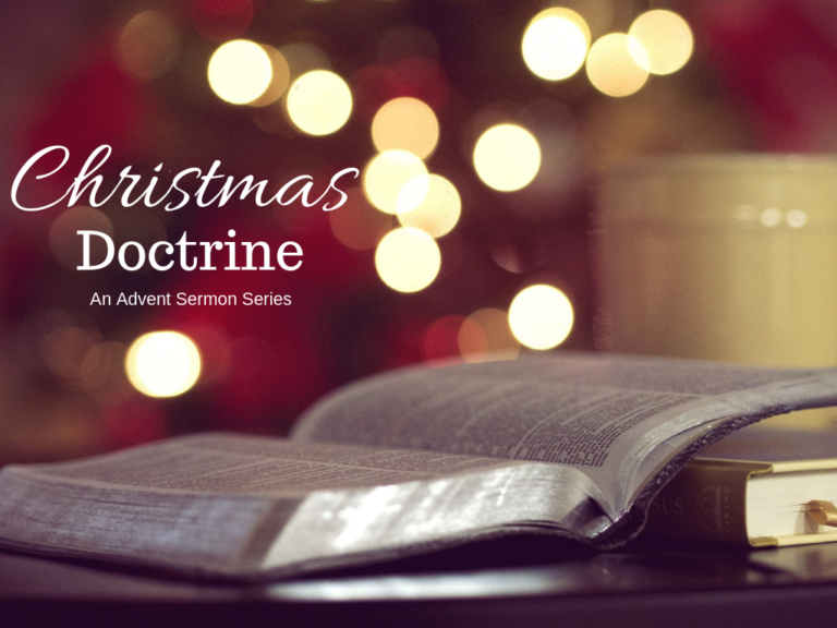 Advent Sermon Series for 2018