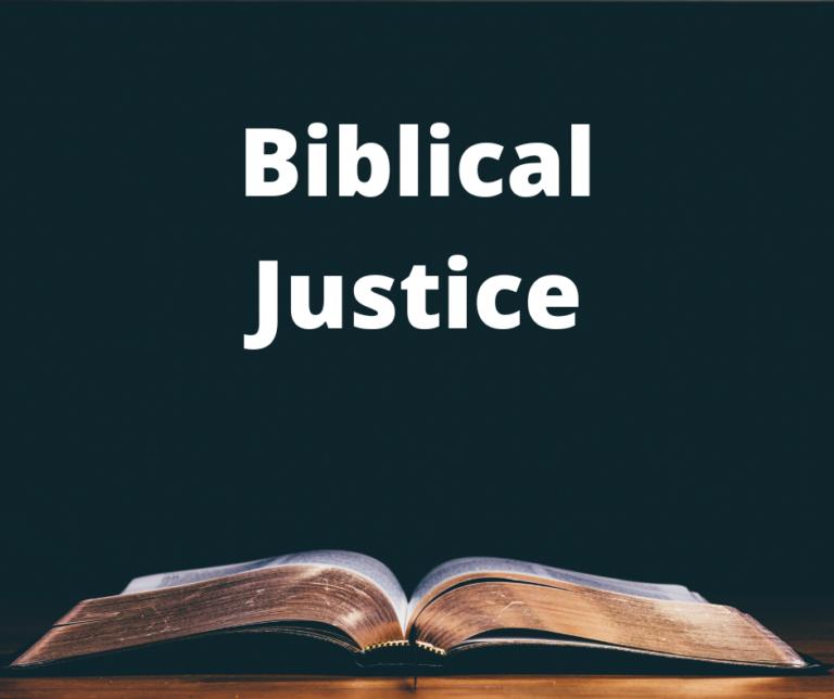 Biblical Justice